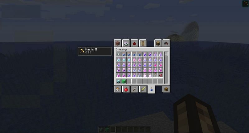 Potion Chart in Minecraft