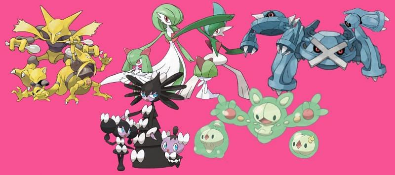 Psychic Pokemon are among the most powerful types in the entire franchise. Image via Game Freak