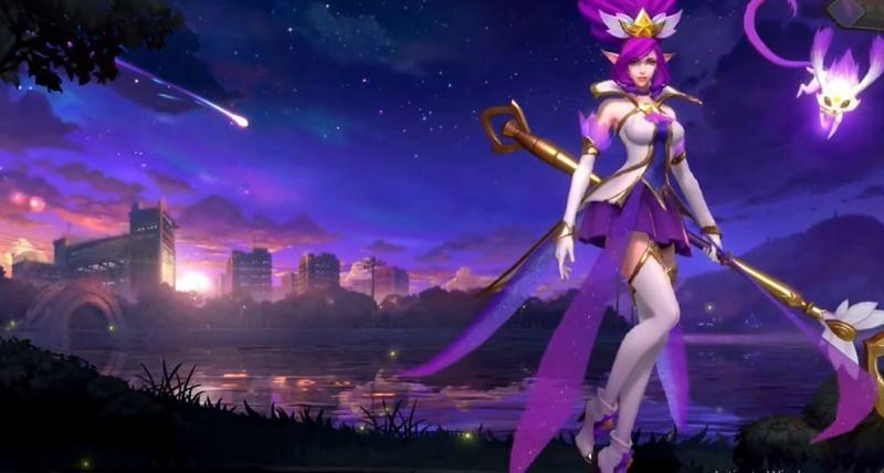 Звездный страж Жанна в Wild Rift (Изображение с Riot Games)