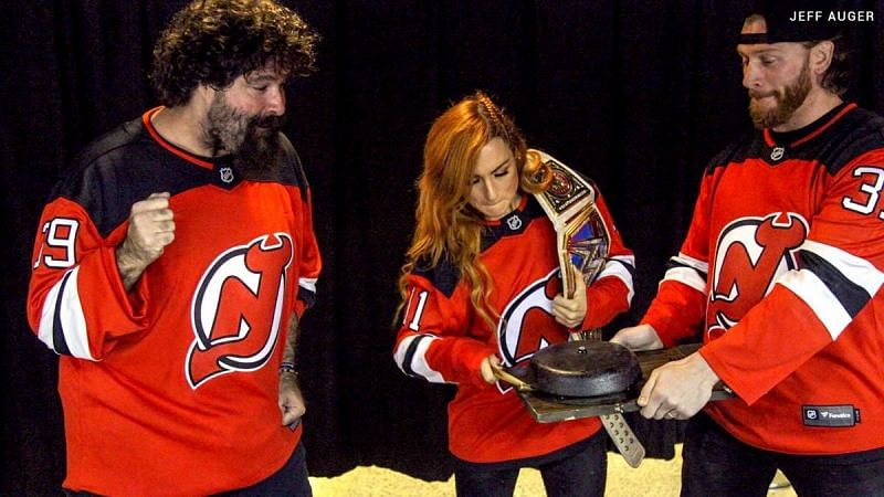 Becky Lynch and Mick Foley are close friends in real life
