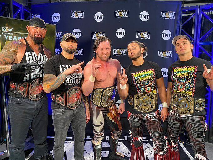 Fans witnessed a Bullet Club reunion to conclude AEW Dynamite