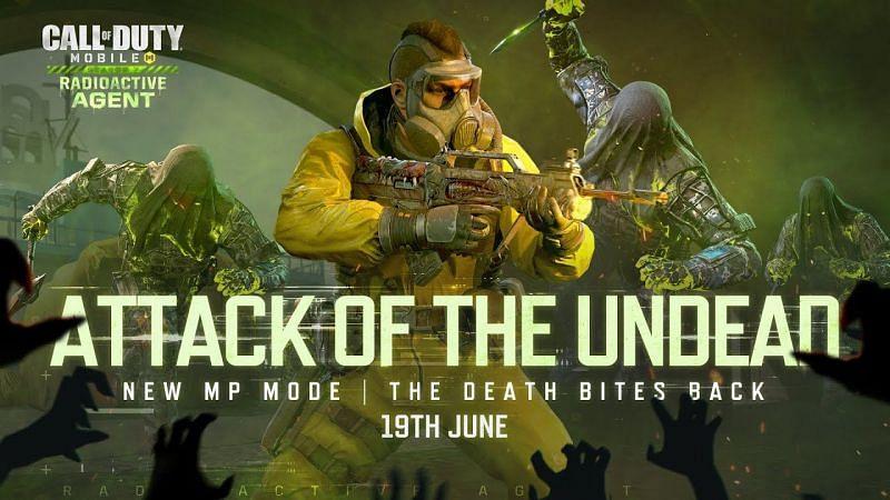 Attack of the Undead (Image via Garena COD Mobile / YouTube)