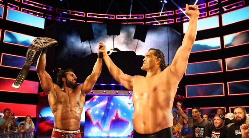 पूर्व WWE वर्ल्ड चैंपियंस जिंदर महल और द ग्रेट खली