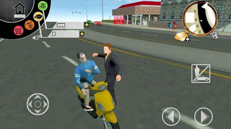 San Andreas: 3D Real Gangsters (Image via DroidGameplaysTV, YouTube)