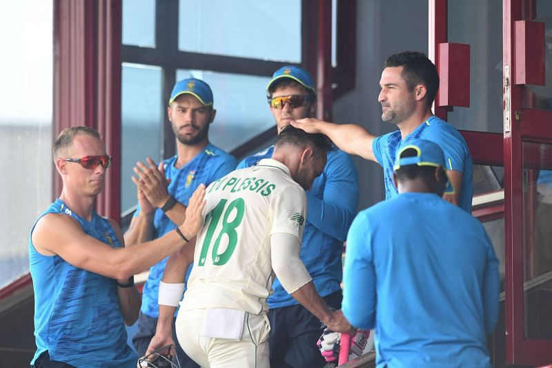 Faf du Plessis could miss South Africa