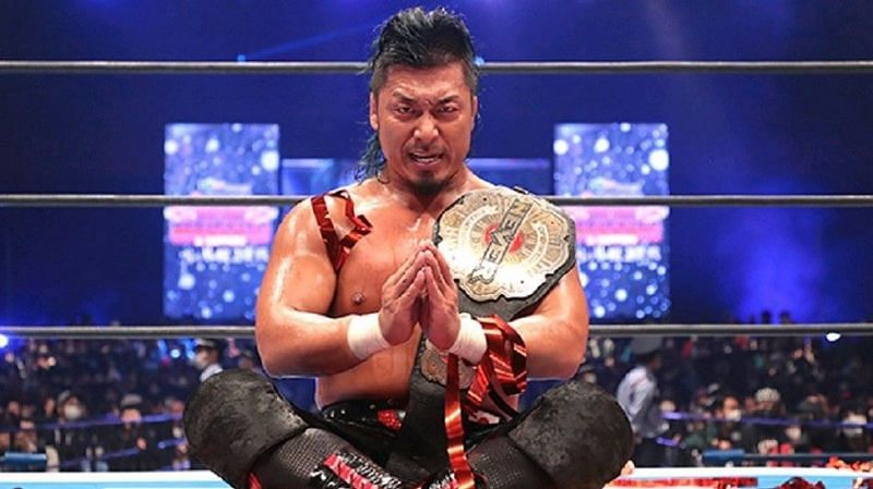 Shingo Takagi retained the NEVER Opeweight Title in a classic at WK 15.