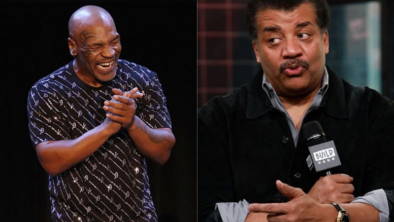 Mike Tyson and Neil deGrasse Tyson