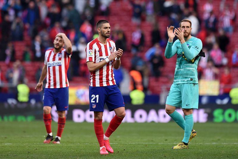 Atletico Madrid take on Sevilla this week