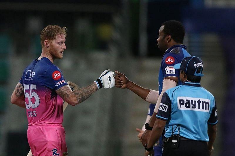 Ben Stokes scored a century against the Mumbai Indians in IPL 2021 (Image courtesy: IPLT20.com)