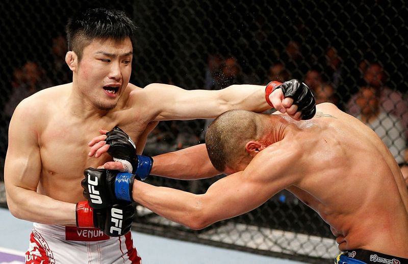 Takanori Gomi struggled greatly during his UFC career.