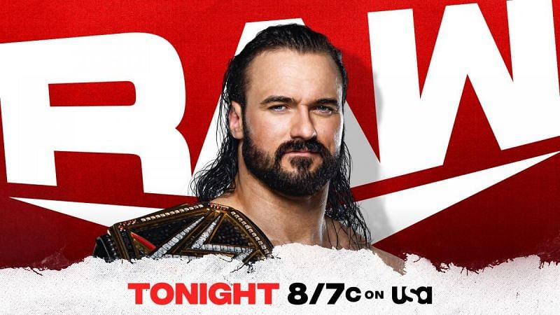 Following the announcement that Drew McIntyre has tested positive for COVID-19, WWE announces McIntyre will speak tonight on RAW.