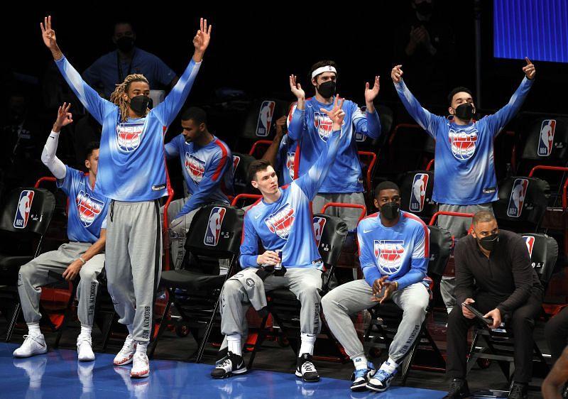 The Brooklyn Nets take on the Oklahoma City Thunder next
