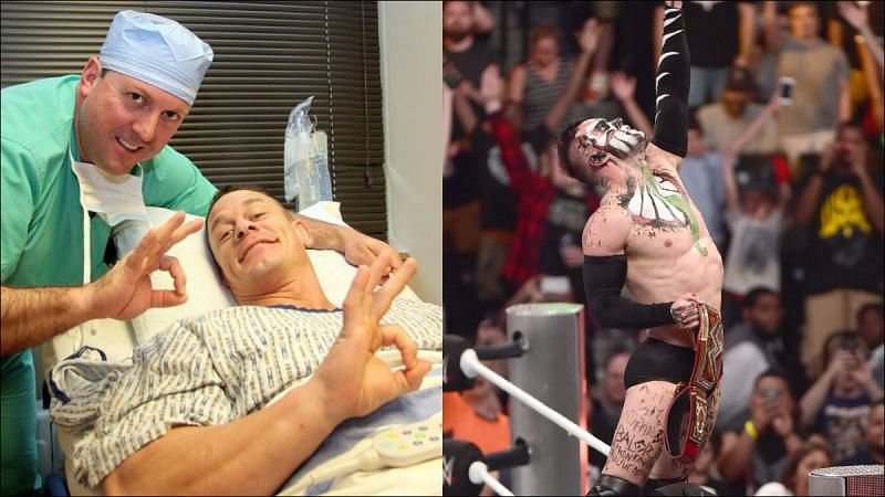 Top Superstars have battled through injuries to complete Championship matches