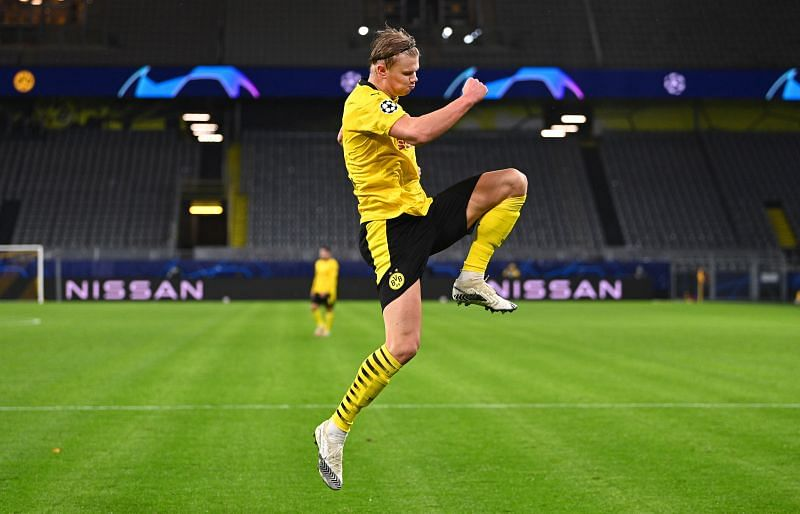 Erling Haaland has been in fine form Borussia Dortmund