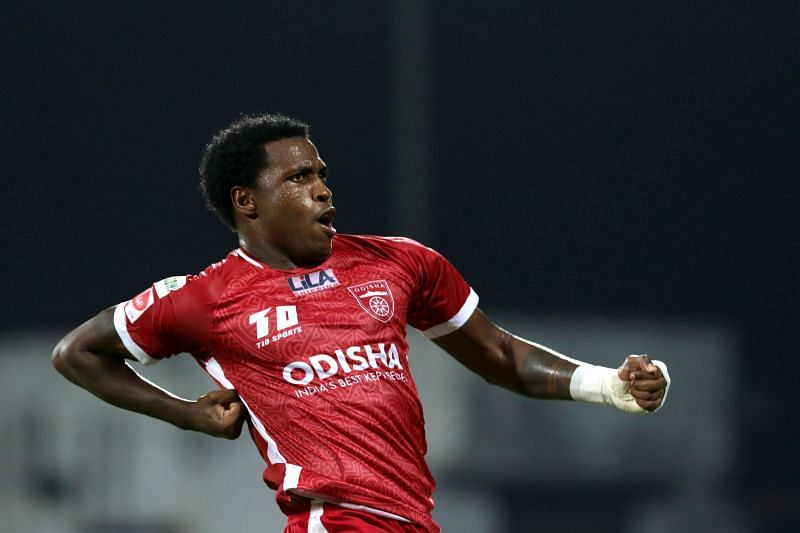 Diego Mauricio is in red hot form for Odisha FC. He has scored 5 goals for his side. (Image: ISL)