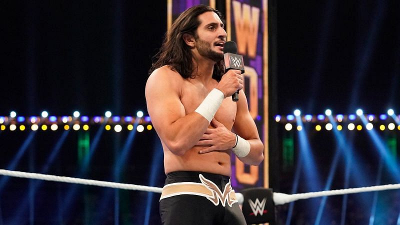 Mansoor defeated Cesaro and Dolph Ziggler at WWE