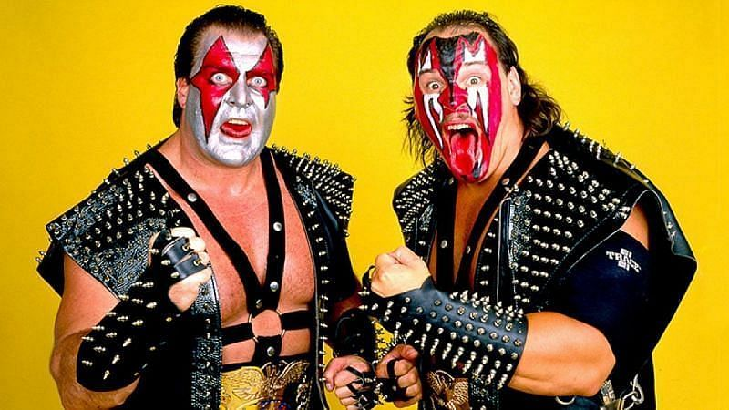 Demolition is one of the most iconic tag teams in history