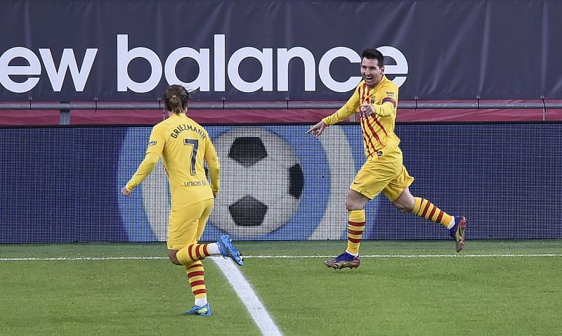 Barcelona dominated possession against Athletic Bilbao