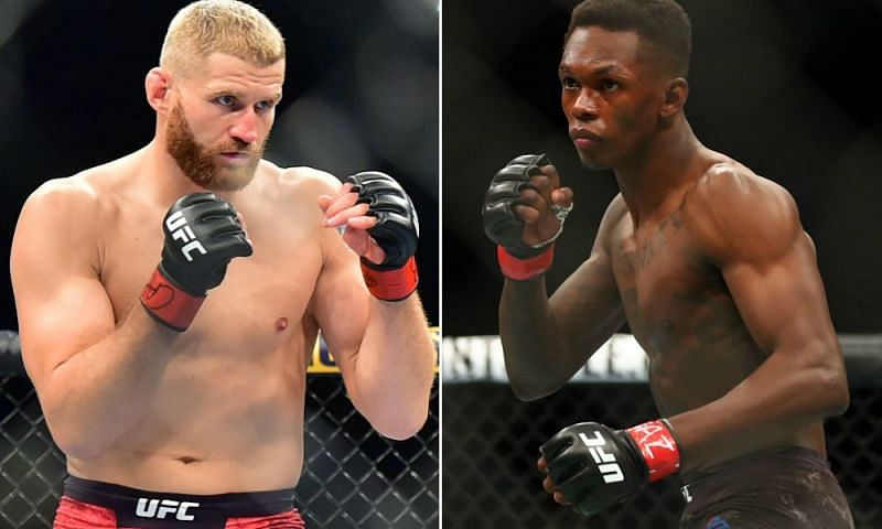 Jan Blachowicz and Israel Adesanya are set to face off in the UFC
