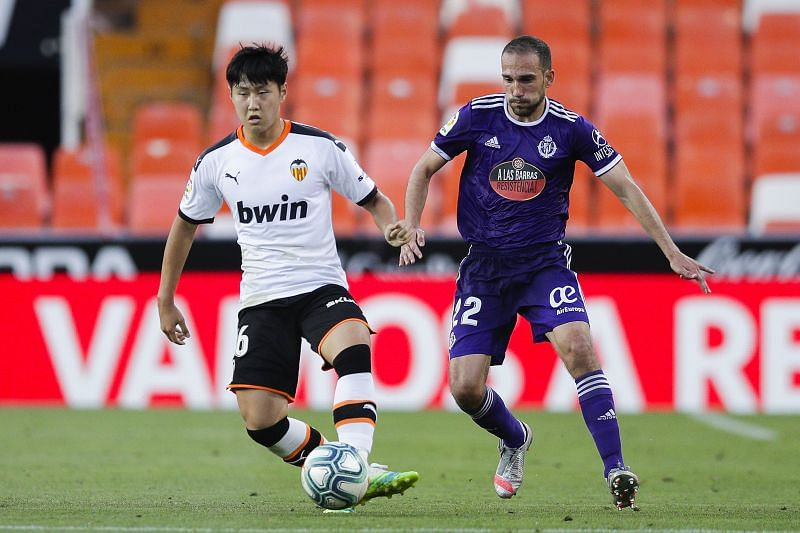 Valencia take on Real Valladolid this weekend