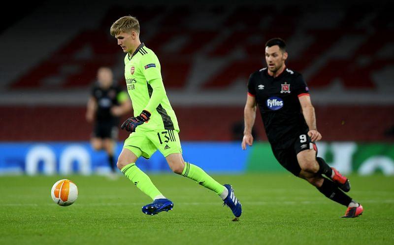 Alex Runarsson has struggled to find his feet at Arsenal
