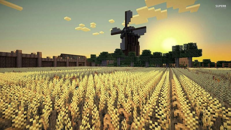 Players can learn some basics regarding the workings of Minecraft by using some console commands(Image via wallpapercave.com)
