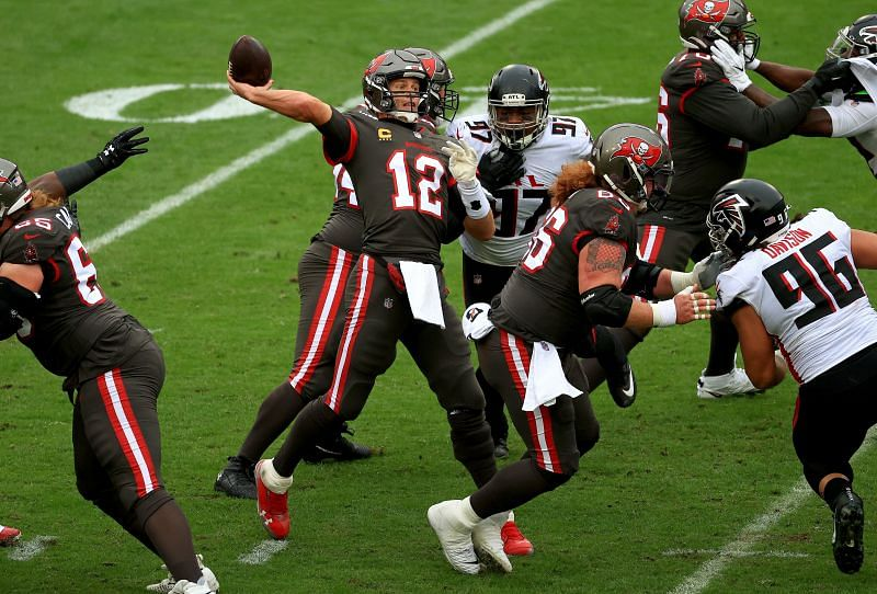 Tampa Bay Buccaneers QB Tom Brady Will Look To Overcome a Talented Washington Football Team Defensive Line