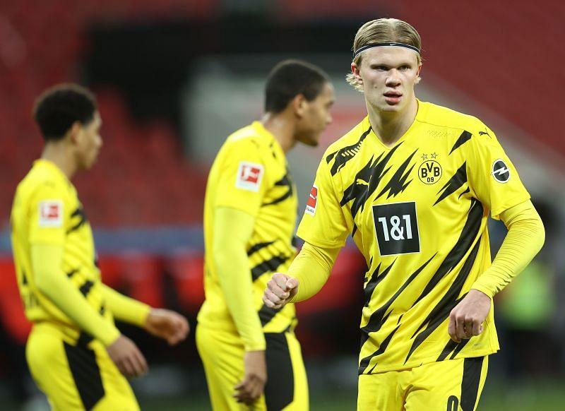 Borussia Dortmund play Borussia Monchengladbach on Friday