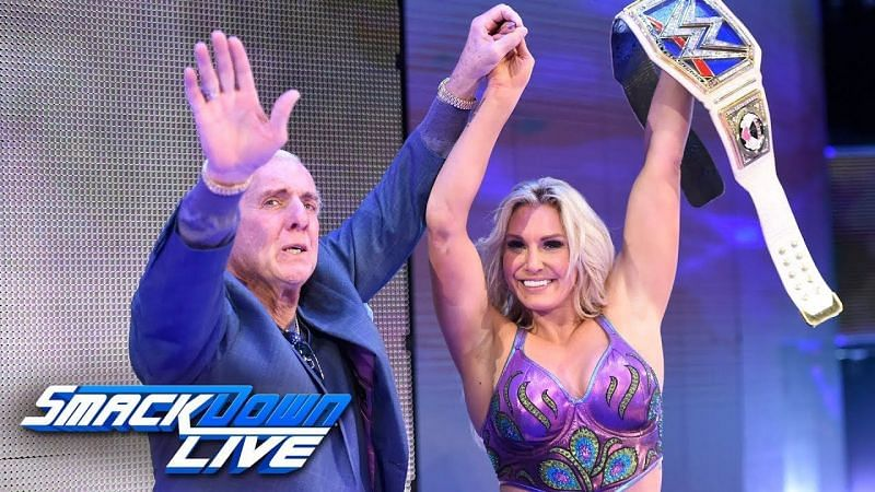 Ric Flair is extremely proud of what Charlotte has accomplished