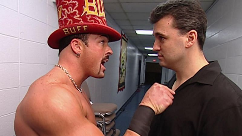 Buff Bagwell and Shane McMahon