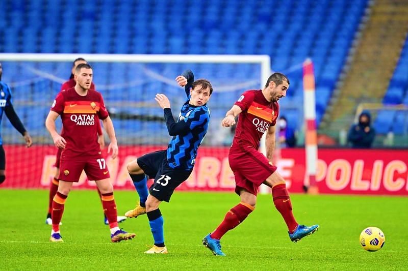 Inter Milan and AS Roma played out a pulsating draw in Serie A.