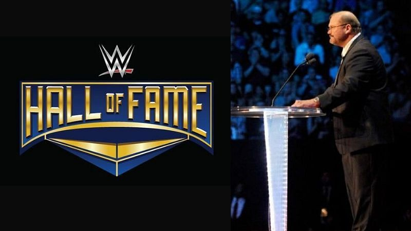 Arn Anderson received his WWE Hall of Fame induction in 2012