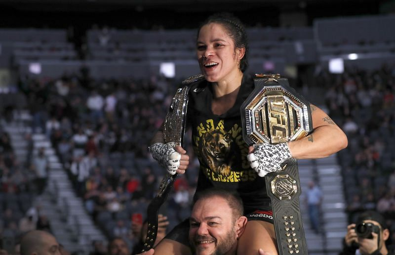 Amanda Nunes rules over two of the UFC