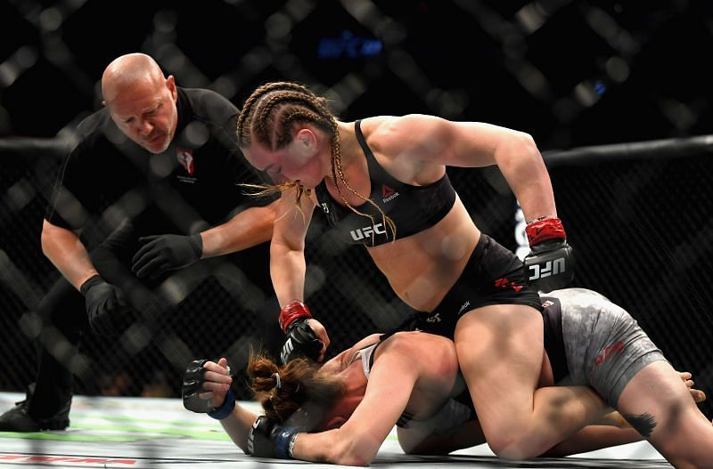 If Amanda Nunes were to vacate her UFC title, could Aspen Ladd then claim it?