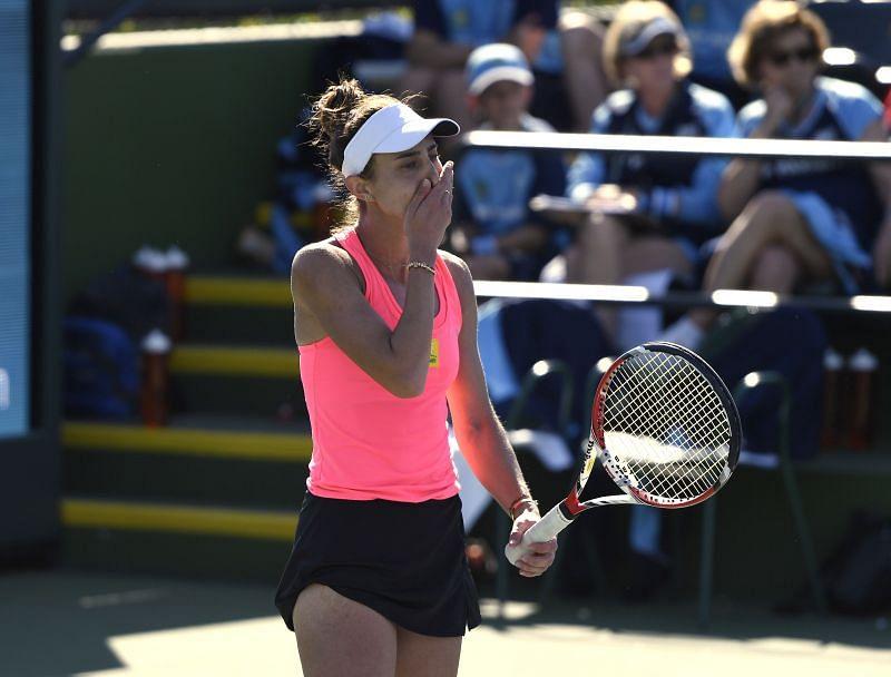 Mihaela Buzarnescu earned a hard-fought win over Claire Liu in the second round.