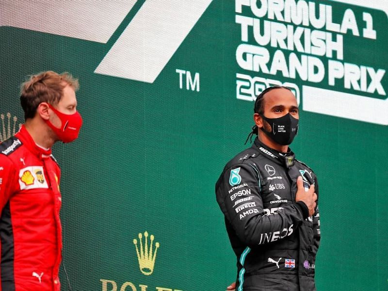 Lewis Hamilton won the Turkish GP 2020 in an uncompetitive car.