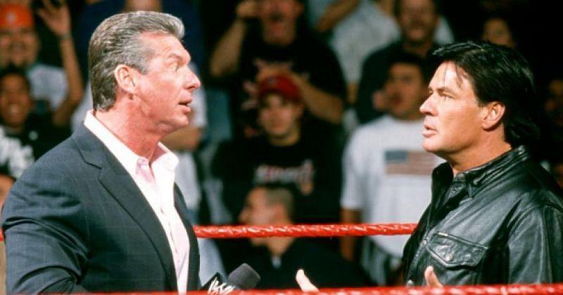 Vince McMahon and Eric Bischoff.