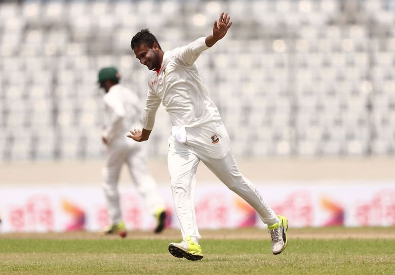 Shakib Al Hasan made his comeback in the Bangladesh Test team after his 12 month ban.