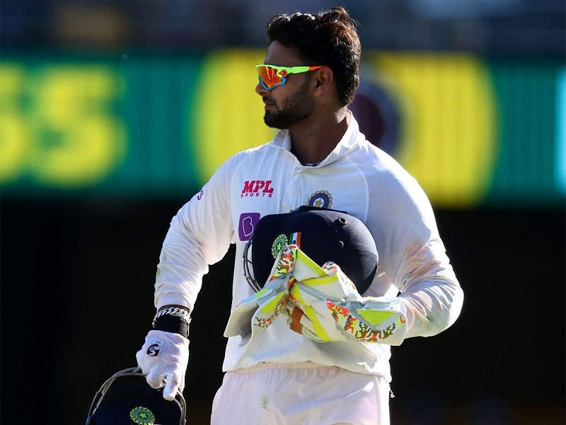 Rishabh Pant was the Man of the Match in Brisbane