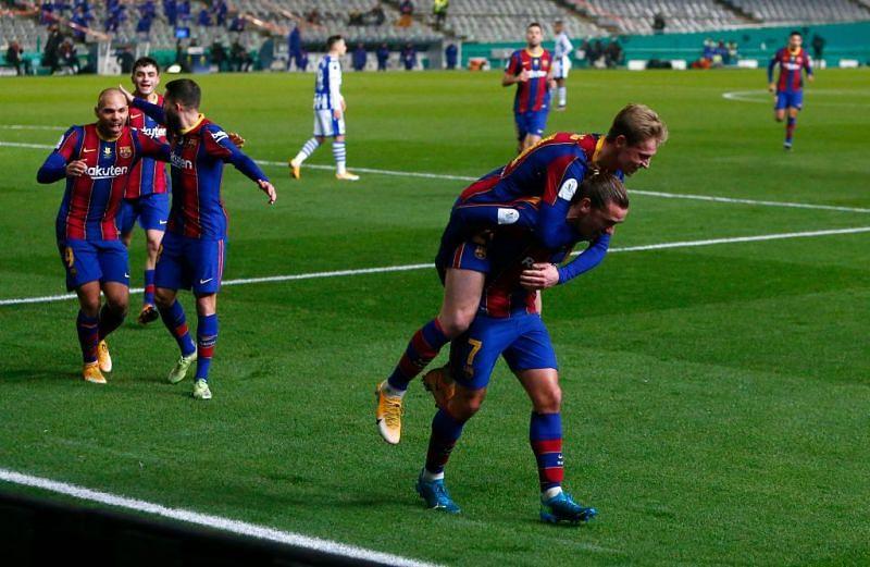 Barcelona see off Sociedad on penalties, their fir