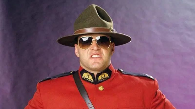 The Mountie was a member of The Quebecers tag team