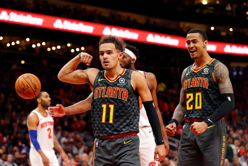 New York Knicks v Atlanta Hawks.