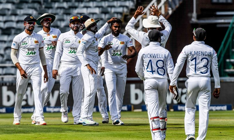 Sri Lanka were inconsistent with the ball against South Africa at Johannesburg