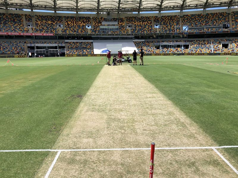 Mohammed Siraj reckons the cracks on the Gabba pitch may cause the Indian batsmen a few problems.