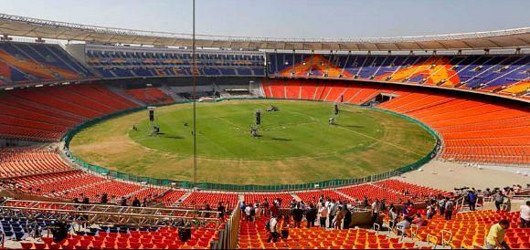 सरदार पटेल स्टेडियम, अहमदाबाद