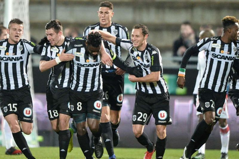 Angers will be looking for victory over bottom club Nimes this weekend