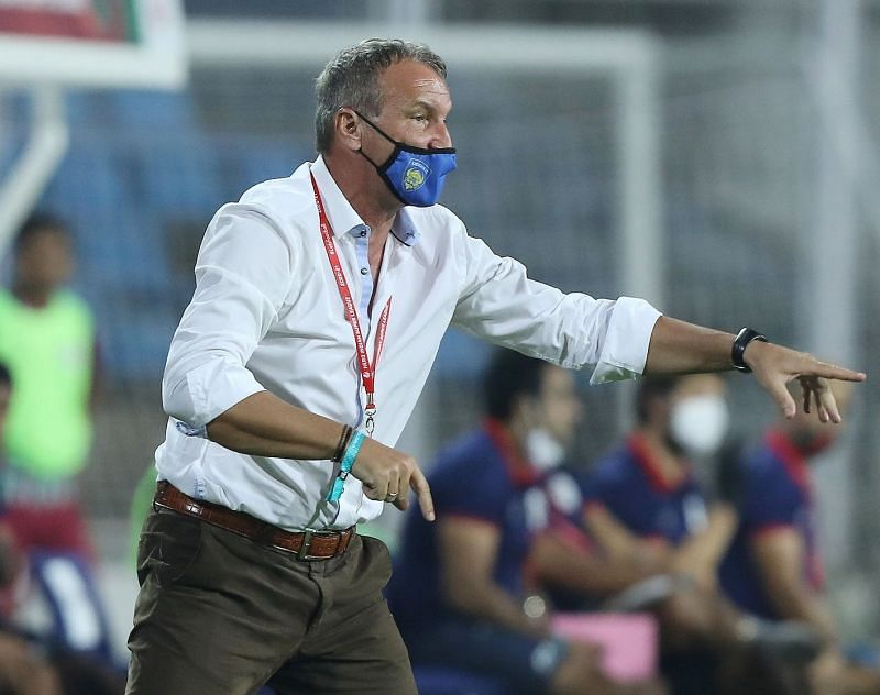 Chennaiyin FC coach Csaba Laszlo was pleased with his side