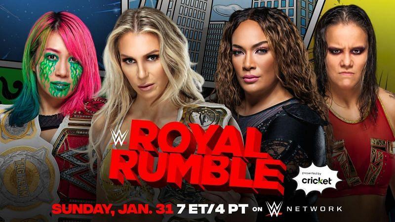 Royal Rumble के लिए बड़ा मैच तय