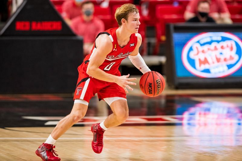 Mac McClung #0 for the Texas Tech Red Raiders