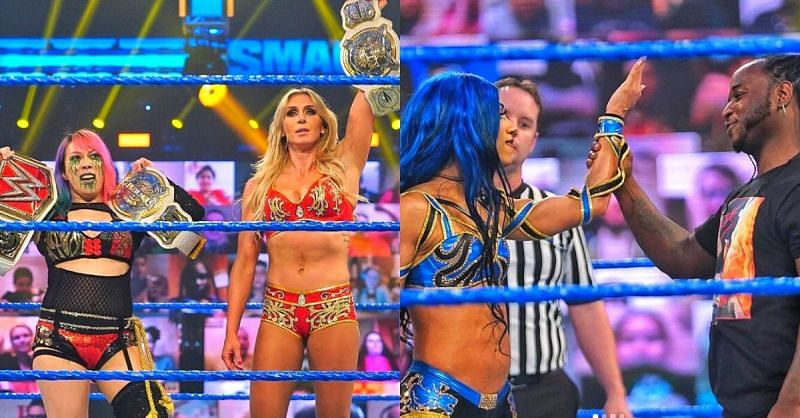 What a night on SmackDown